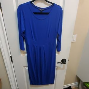 Cobalt Blue maternity dress